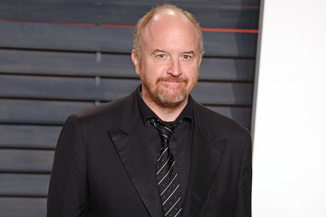 Louis C.K., seen here attending the 2016 Vanity Fair Oscar Party in Beverly Hills on February 28, co-created and will lend his voice to a character on the new animated series The Cops. File Photo by David Silpa/UPI