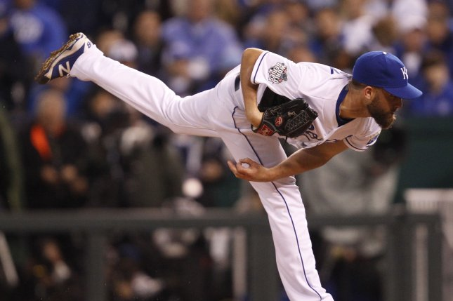 Royals' Danny Duffy cited for DUI after Sunday's game