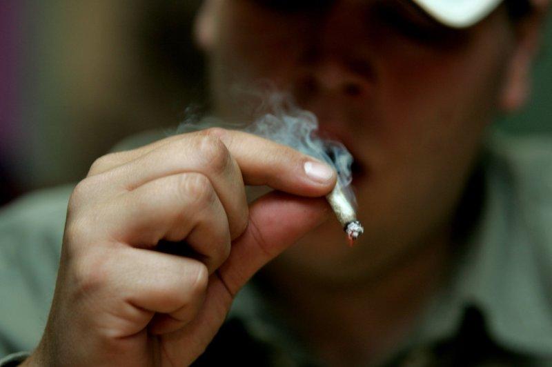 More U S  parents smoking pot around kids as legalization