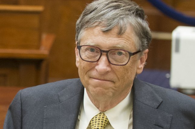 Microsoft co-founder Bill Gates said the Bill and Melinda Gates Foundation will invest $5 billion in Africa over the next five years. File Photo by Kevin Dietsch/UPI