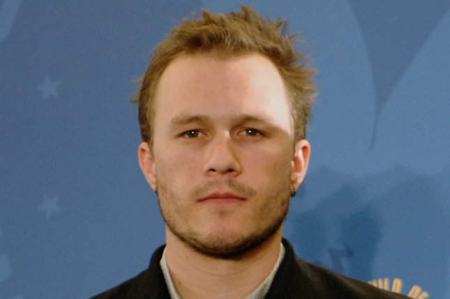 Heath Ledger at the Directors Guild of America Awards on January 28, 2006. The actor died in 2008. File Photo by Jim Ruymen/UPI