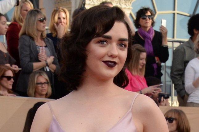 Maisie Williams attends the Screen Actors Guild Awards on January 29, 2017. File Photo by Jim Ruymen/UPI
