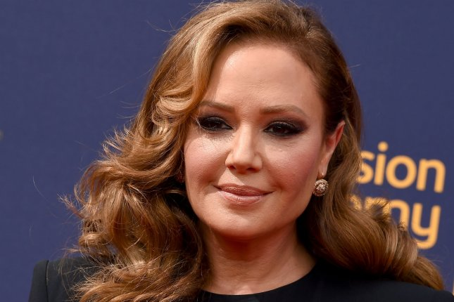 Leah Remini attends the Creative Arts Emmy Awards on Sunday. Photo by Gregg DeGuire/UPI