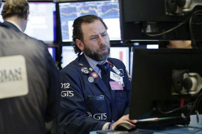 Stocks fell sharply on Monday, February 24, 2020, with Dow Jones Industrial Average closing down over 1,000 points on possible fears from the coronavirus outbreak. Photo by John Angelillo/UPI