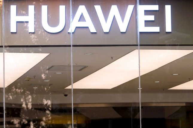 Chinese firm Huawei has been charged with espionage and technology theft. Global chip suppliers are complying with U.S. sanctions against the company. File Photo by Stephen Shaver/UPI