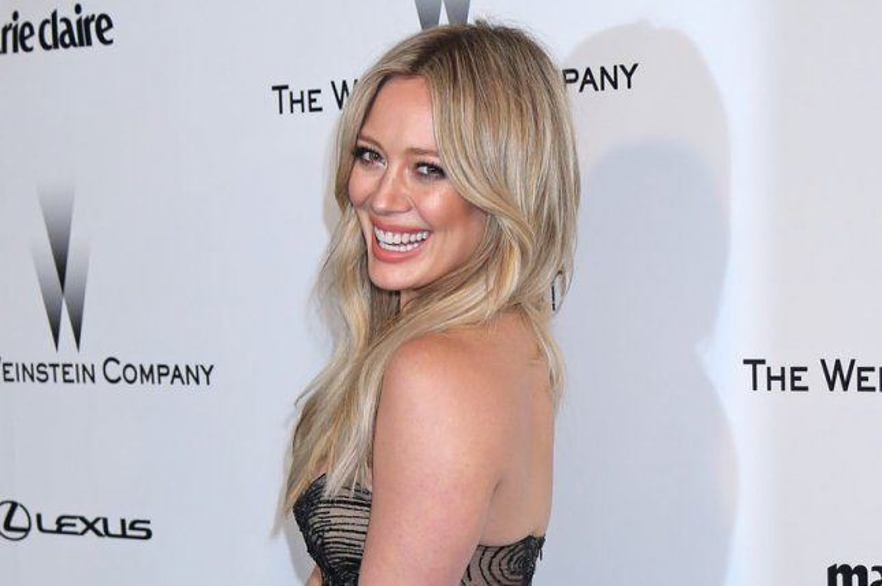 Hilary Duff shares glamour shot throwback photo