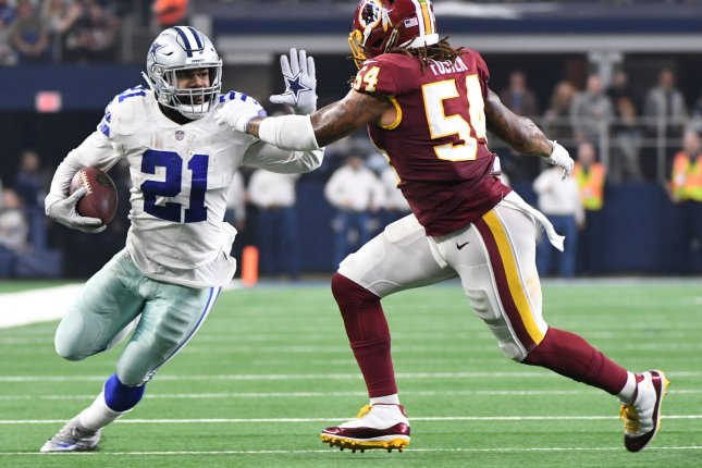Ezekiel Elliott didn't find Jerry Jones' 'Zeke who?' quip all that amusing