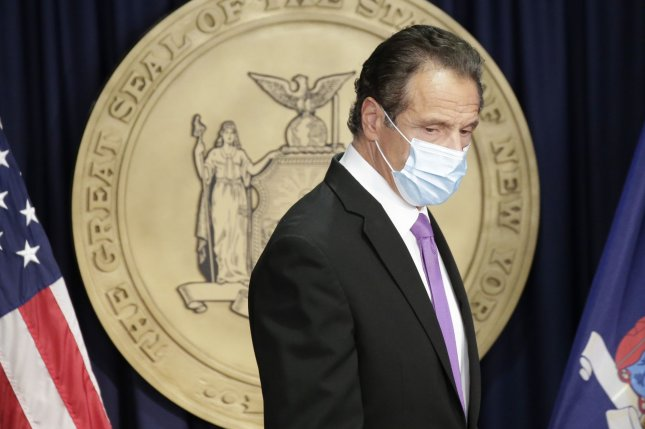 New York Gov. Andrew Cuomo is expected to sign legislation revoking his temporary emergency powers amid the COVID-19 pandemic. File Photo by John Angelillo/UPI