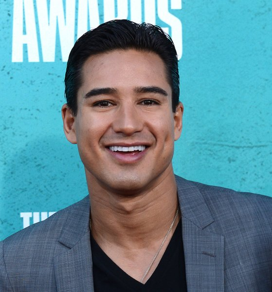 Television personality Mario Lopez arrives at the MTV Movie Awards at the Gibson Amphitheatre in Universal City, Calif., June 3, 2012. UPI/Jim Ruymen