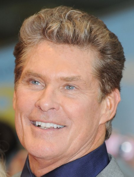 American actor/ TV personality David Hasselhoff attends the world premiere of Larry Crowne at Westfield in London on June 6, 2011. UPI/Rune Hellestad