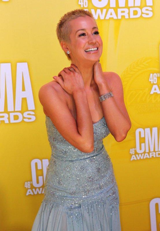 Kellie Pickler arrives on the red carpet for the 2012 Country Music Awards at the Bridgestone Arena in Nashville on November 1, 2012. UPI/Terry Wyatt
