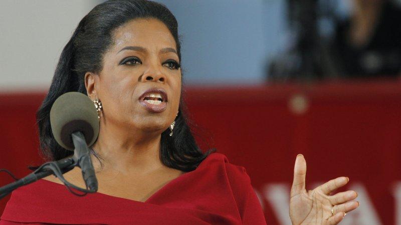 Oprah Winfrey. UPI/Matthew Healey