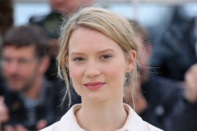 Mia Wasikowska arrives at a photo call for the film Maps to the Stars during the 67th annual Cannes International Film Festival in Cannes, France on May 19, 2014. UPI/David Silpa