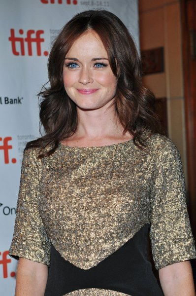 Alexis Bledel arrives for the world premiere of Violet & Daisy at the Elgin Theatre during the Toronto International Film Festival on September 15, 2011. Bledel said it felt pretty natural to step back into the role of Rory Gilmore for Netfilx's upcoming release of Gilmore Girls: A Year in the Life. File Photo by Christine Chew/UPI