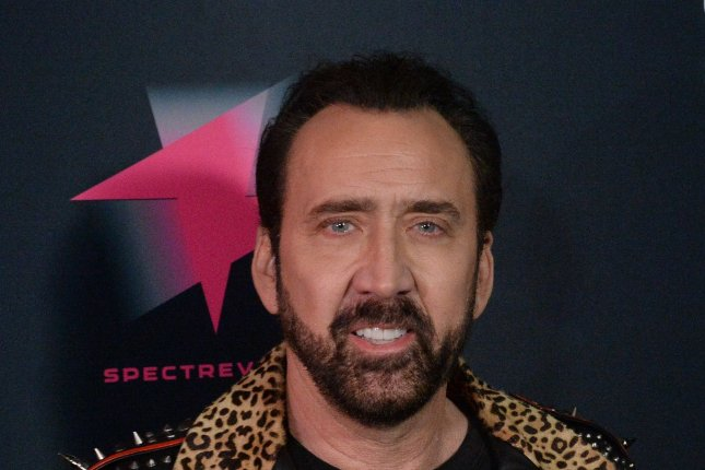 Nicolas Cage will play Joe Exotic in a TV series based on an article published for the Tiger King on Netflix. File Photo by Jim Ruymen/UPI