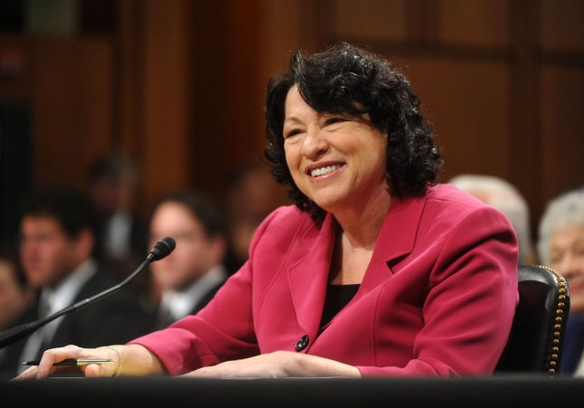 Supreme Court nominee Sonia Sotomayor appears before the Senate Judiciary Committee during the fourth day of her confirmation hearing on Capitol Hill in Washington on July 16, 2009. (UPI Photo/Kevin Dietsch)