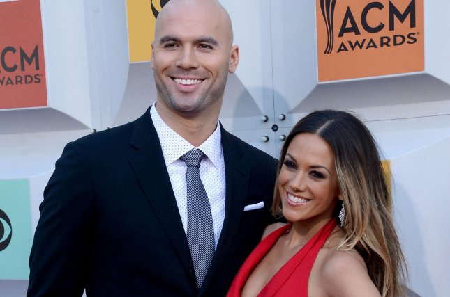 Former NFL player Mike Caussin (L) and recording artist/actress Jana Kramer attend the 51st annual Academy of Country Music Awards on April 3, 2016. The couple have now separated according to a new report. File Photo by Jim Ruymen/UPI