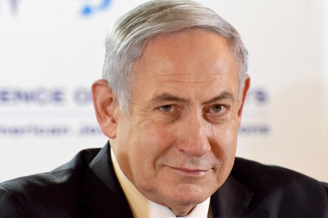 A Jerusalem court has set a March 17 date for Israeli Prime Minister Benjamin Netanyahu's trial on corruption charges. Photo by Debbie Hill/UPI