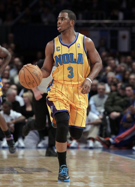 New Orleans Hornets Chris Paul at Madison Square Garden in New York 398fd8c00