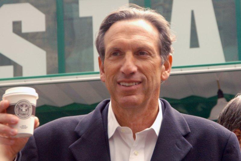 Howard Schultz. (UPI Photo/Ezio Petersen)