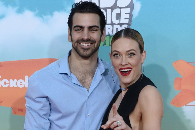 Model Nyle DiMarco (L) and dancer Peta Murgatroyd attend Nickelodeon's Kids' Choice Awards at The Forum in Inglewood, California on March 12, 2016. Photo by Jim Ruymen/UPI