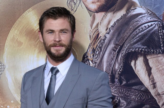 Chris Hemsworth at the Los Angeles premiere of The Huntsman: Winter's War on April 11. File Photo by Jim Ruymen/UPI
