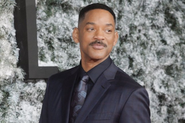 Will Smith attends the premiere of Collateral Beauty on December 15. Smith will potentially star in Disney's planned live-action remake of Dumbo from director Tim Burton alongside Tom Hanks. File Photo by Rune Hellestad/ UPI