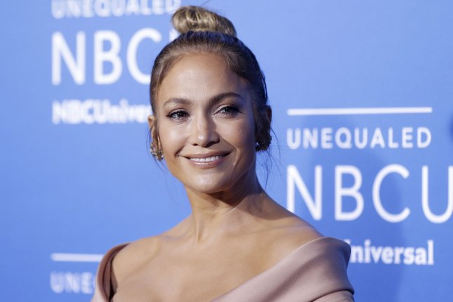 Jennifer Lopez arrives on the red carpet at the 2017 NBCUniversal Upfront at Radio City Music Hall on May 15 in New York City. Lopez's competition show World of Dance has been renewed for a second season. File Photo by John Angelillo/UPI