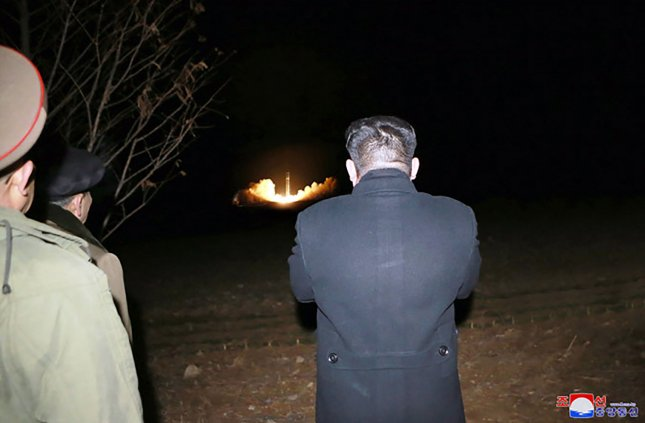 Seoul says North Korea is likely to seek dialogue with the United States while continuing to improve its nuclear and missile technology next year. File Photo by KCNA/UPI