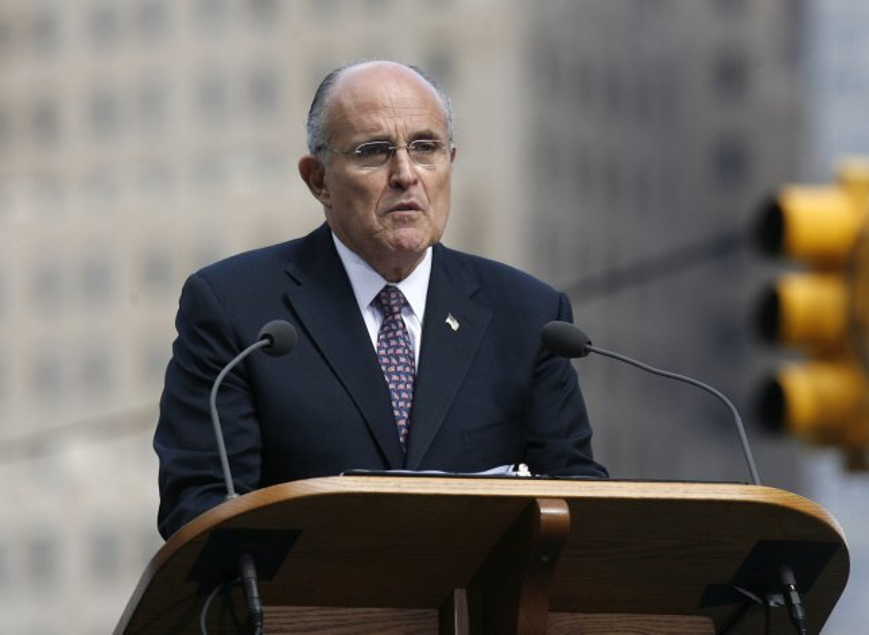 Former NYC Mayor Rudy Giuliani (UPI Photo/Patti Sapone/POOL)