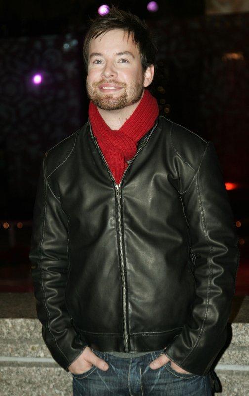 Singer David Cook arrives to the Rockefeller Center Christmas tree lighting ceremony where he performed on December 3, 2008 in New York City. (UPI Photo/Monika Graff)