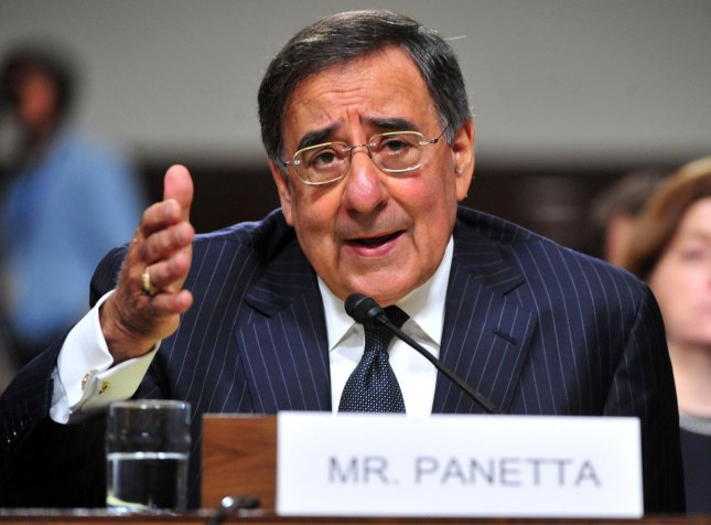 Leon Panetta, shown at a Congressional hearing June 9, 2011. UPI/Kevin Dietsch