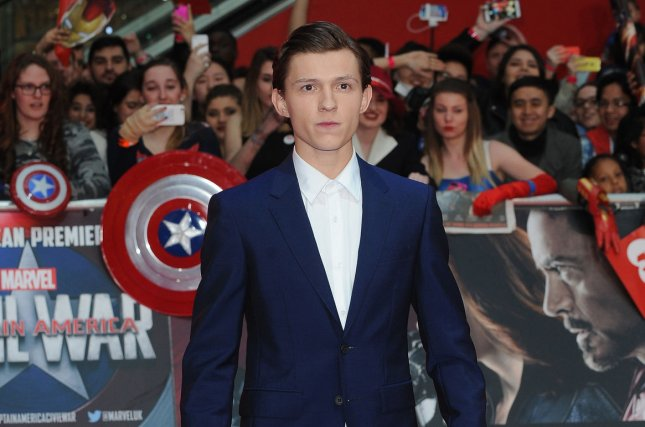 Current Spider-Man star Tom Holland attends the U.K. premiere of Captain America: Civil War on April 26, 2016. Sony is developing a spinoff film featuring Spider-Man characters Black Cat and Silver Sable. File Photo by Paul Treadway/ UPI