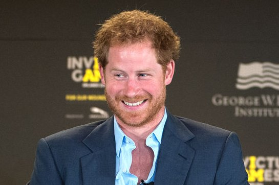 Prince Harry (L) and John-James Chalmers attend the Invictus Games symposium on May 8, 2016. File Photo by EJ Hersom/UPI