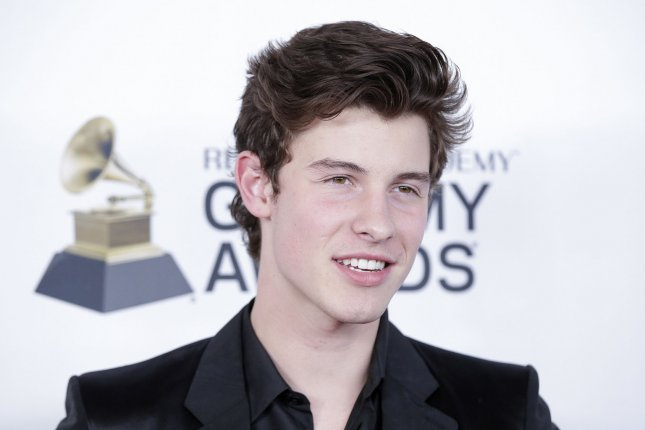 Shawn Mendes attends the Clive Davis pre-Grammy gala on January 27. File Photo by John Angelillo/UPI