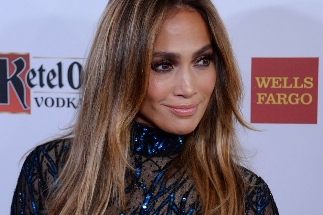 Singer and actress Jennifer Lopez attends the 25th annual GLAAD Media Awards at the Beverly Hilton Hotel in Beverly Hills, California on April 12, 2014. The GLAAD Media Awards bring celebrities, corporate partners, media professionals, and young adults together in support of GLAADÕs mission to amplify the voice of the LGBT community and achieve full equality. UPI/Jim Ruymen