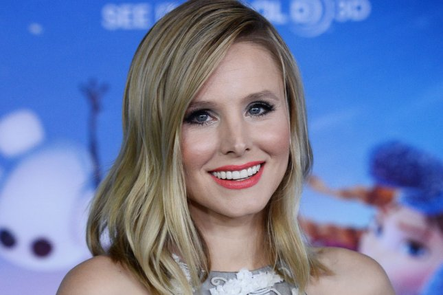 Actress Kristen Bell, the voice of Anna in the animated motion picture musical comedy Frozen attends the premiere of the film at the El Capitan Theatre in the Hollywood section of Los Angeles on November 19, 2013. UPI/Jim Ruymen