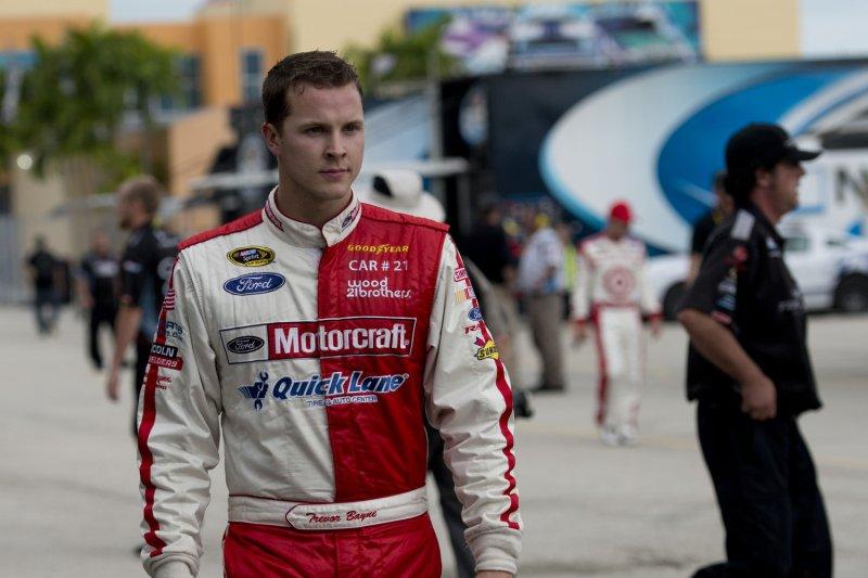 NASCAR's Trevor Bayne (6). UPI/Gary I Rothstein