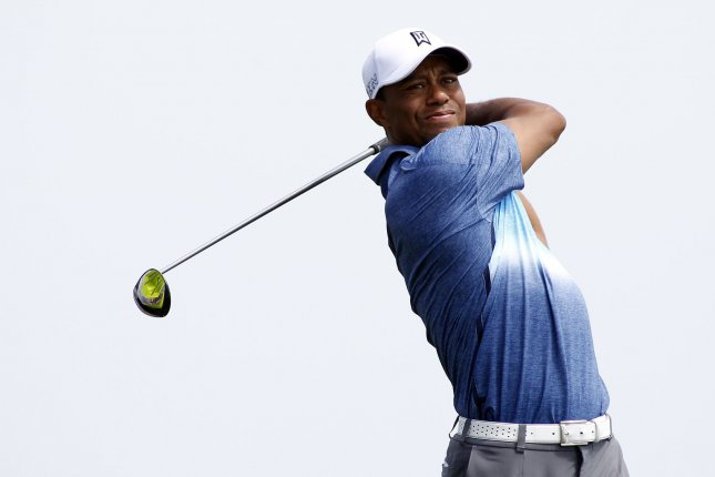 Tiger Woods spoke about his return to golf this week at a media event for the Quicken Loans National in Bethesda, MD. File photo by Frank Polich/UPI