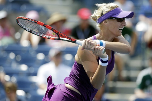 Mirjana Lucic-Baroni needed only 65 minutes to dispatch Agnieszka Radwanska, the 2012 champion of this event, with a dominating 6-0, 6-3 victory in her third-round match. File Photo by John Angelillo/UPI