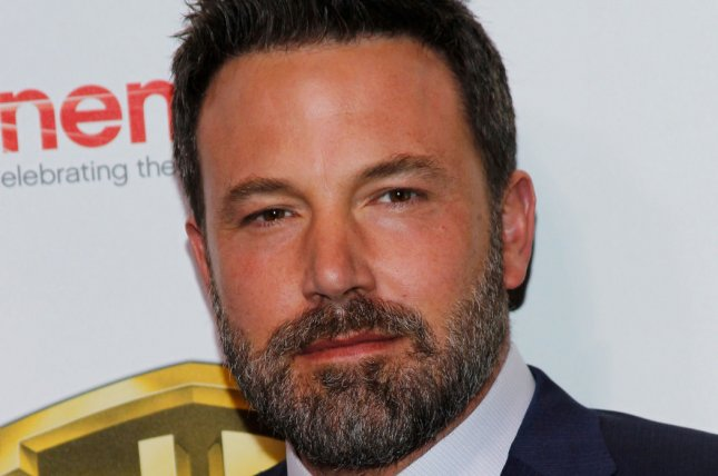 Ben Affleck attends the Warner Bros. Big Picture presentation at CinemaCon on Wednesday. The actor recently sought treatment for alcohol addiction. Photo by James Atoa/UPI