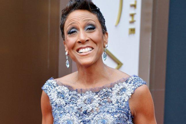 Robin Roberts arrives on the red carpet at the 86th Academy Awards at Hollywood & Highland Center in the Hollywood section of Los Angeles on March 2, 2014. UPI/Kevin Dietsch