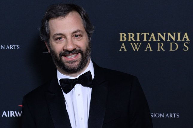 Director Judd Apatow criticized Canadian venues for not canceling Bill Cosby's upcoming performances in the midst of claims the actor abused a number of women decades ago. The director is pictured on November 9, 2013. UPI/Jim Ruymen