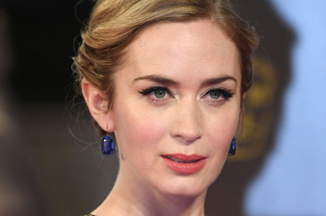 English actress Emily Blunt attends the 70th EE British Academy Film Awards in London on February 12. Blunt will soon be seen in Mary Poppins Returns. File Photo by Paul Treadway/UPI