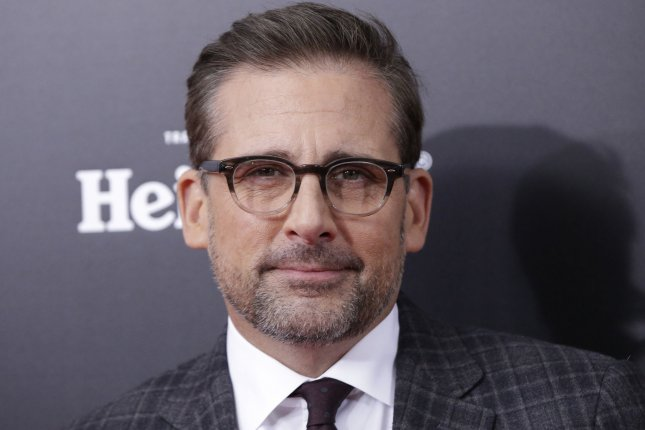Steve Carell arrives on the red carpet for the New York premiere of The Big Short on November 23, 2015. Carell returns as the voice of Gru in the second trailer for Despicable Me 3 alongside Kristen Wiig. File Photo by John Angelillo/UPI