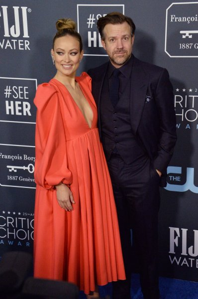 Olivia Wilde (L) and Jason Sudeikis reportedly have broken up. File Photo by Jim Ruymen/UPI
