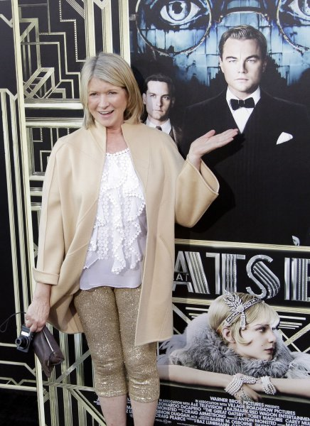 Martha Stewart arrives on the red carpet for the World Premiere of The Great Gatsby at Avery Fisher Hall in Lincoln Center in New York, May 1, 2013. UPI/John Angelillo