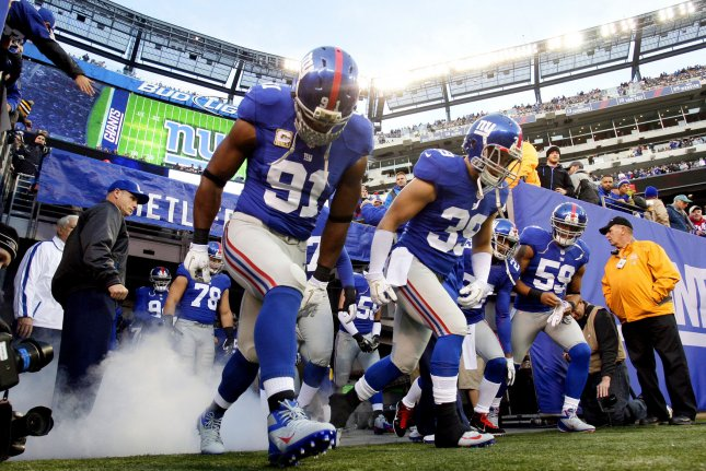 New research says career NFL players have a slightly higher risk of early death than a group of replacement players who stood in for a few games during a short league strike in the 1980s. File Photo by John Angelillo/UPI