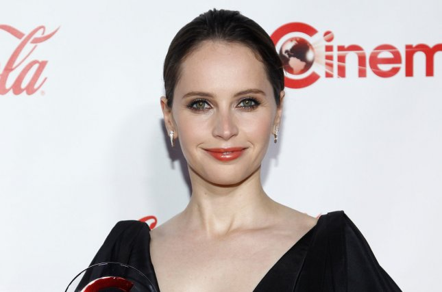 Felicity Jones appears in the first trailer for On the Basis of Sex alongside Armie Hammer. File Photo by James Atoa/UPI