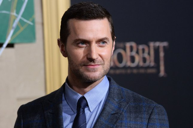 Wolverine podcast star Richard Armitage. The actor is returning to voice the character in a second season of the podcast series. File Photo by Jim Ruymen/UPI